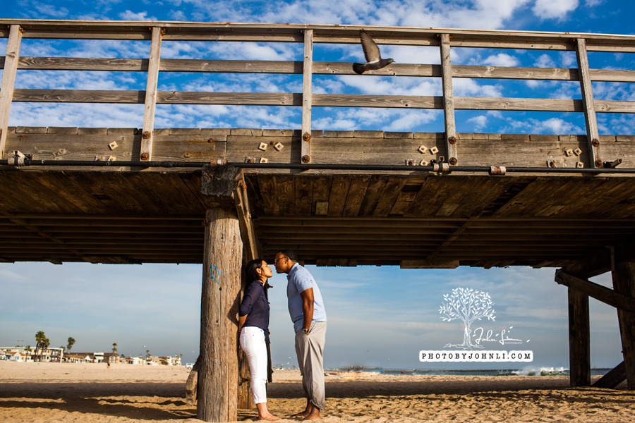 040 Seal Beach  Engagement Photography