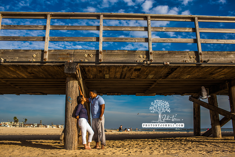 041 Seal Beach  Engagement Photography