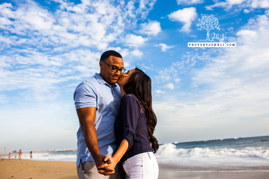 043 Seal Beach  Engagement Photography