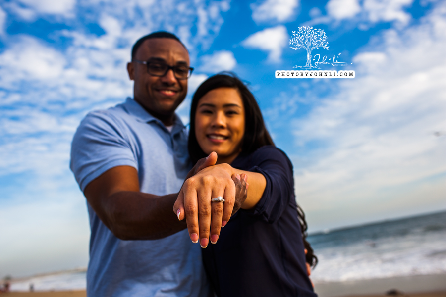 044 Seal Beach  Engagement Photography