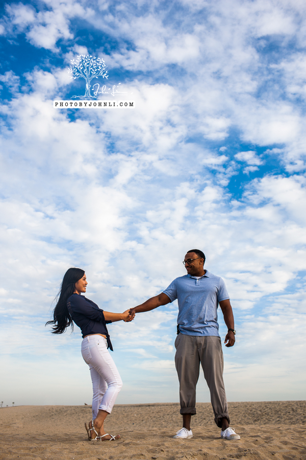 045 Seal Beach  Engagement Photography