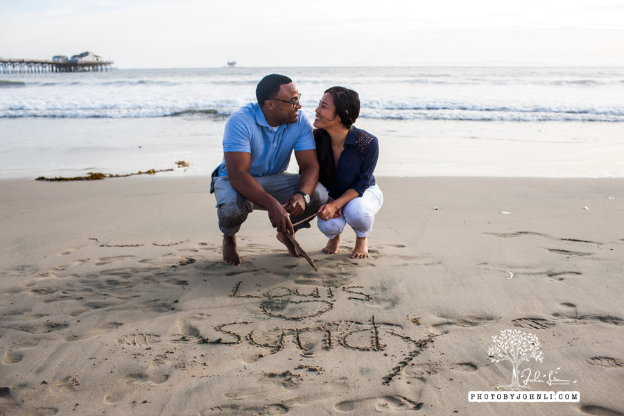 047 Seal Beach  Engagement Photography