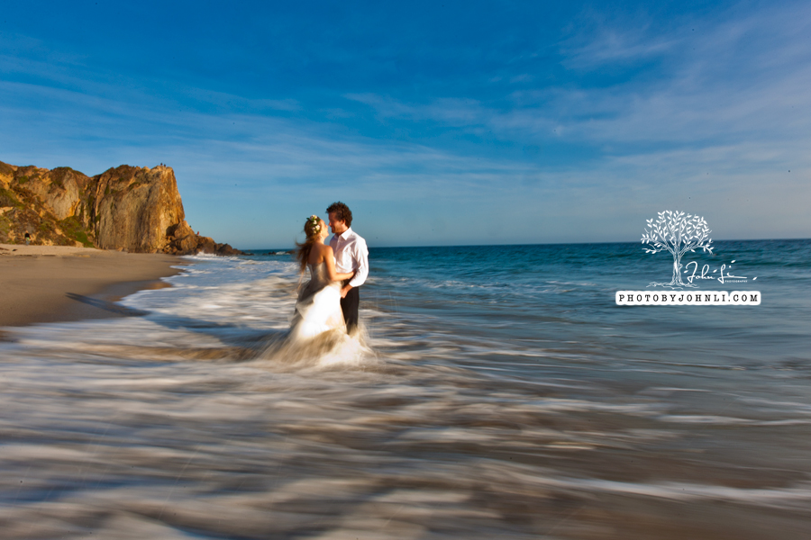 031  Trash the dress on Malibu Beach